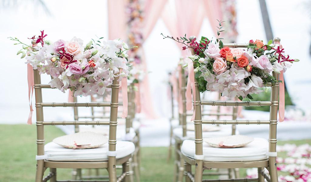 allestimenti floreali per i matrimoni d'autunno